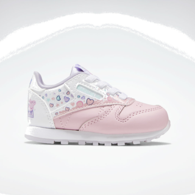Reebok Peppa Pig Classic Leather Light Pink / Cloud White / Purple Glow GZ6485