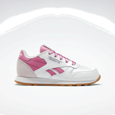 Reebok Classic Leather Cloud White / Frost Berry / True Pink S29115