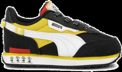 NU 21% KORTING: PUMA sneakers PEANUTS Future Rider AC Inf zwart