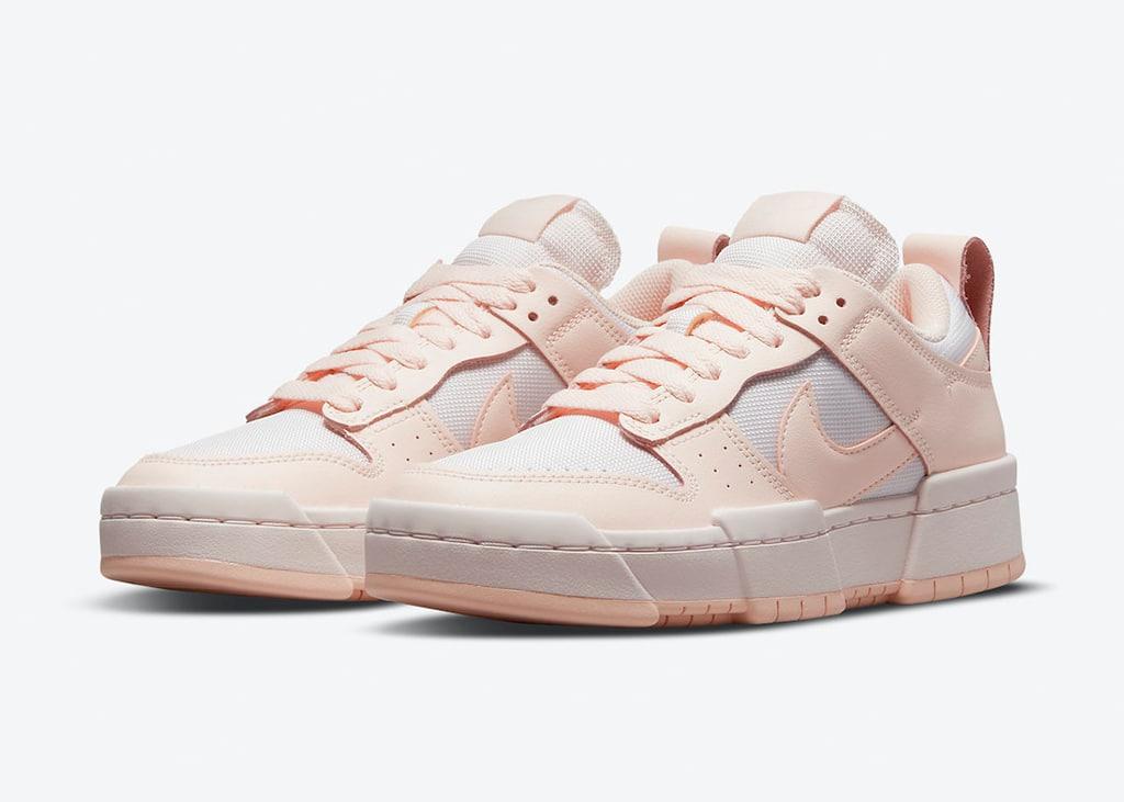De Nike Dunk Low Disrupt komt binnenkort uit in 'Barely Rose'