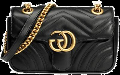 Gucci Gucci GG Marmont Matelassé Mini Bag Black  446744