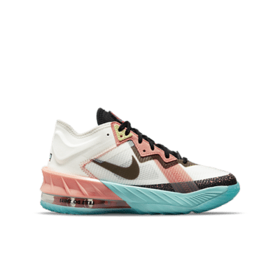 Nike Lebron 18 Low Summit White Space Jam (GS) DJ3760-115