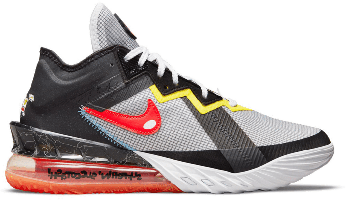 Nike Lebron 18 Low Sylvester vs Tweety Space Jam CV7562-103