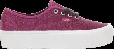 Vans Authentic Platform 'Glitter – Purple' Purple VN0A3AV8UJQ1