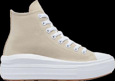 Converse Wmns Chuck Taylor All Star Move High 'Mono Pastels – Farro' Cream 571866C
