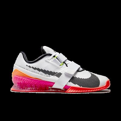 Nike Romaleos 4 SE White Bright Crimson Pink DJ4487-121