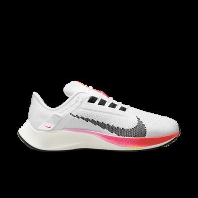 Nike Air Zoom Pegasus 38 FlyEase Eenvoudig aan en uit te trekken Wit DJ5408-100