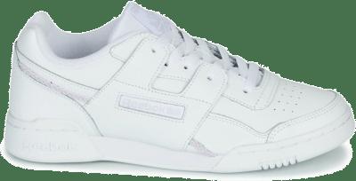 Reebok Workout Lo Plus White / Lilac Frost / None EH0232