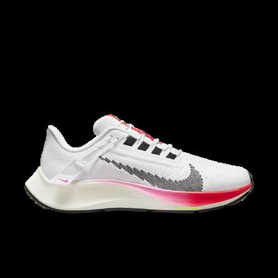 Nike Air Zoom Pegasus 38 FlyEase Eenvoudig aan en uit te trekken Wit DJ5413-100