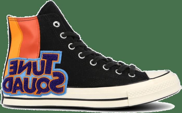 x Space Jam Chuck Taylor All Star '70 Hi Black / Mantra Orange / Multi 172482C