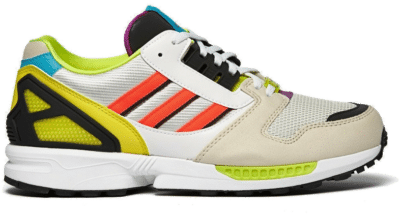 Adidas ZX 8000 Clear Brown / Footwear White / Crystal White H01399