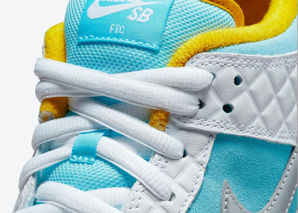 Op 21 juli komen de Nike SB Dunk Low in samenwerking met FTC uit