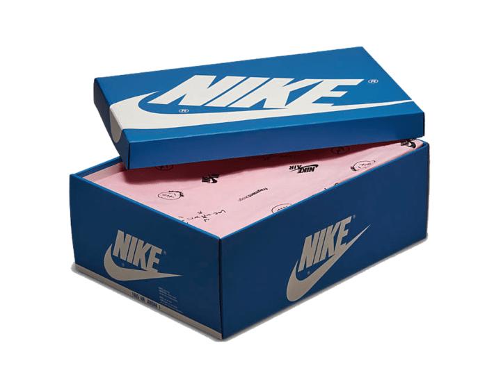 packaging Nike Air Jordan 1 fragment