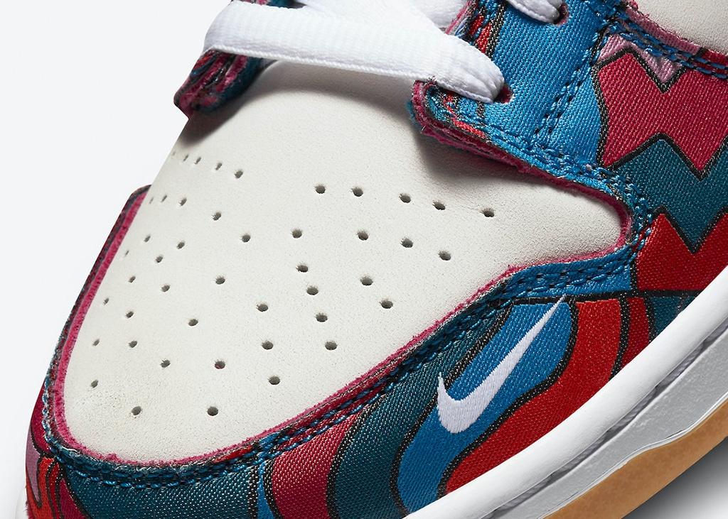 Officiele foto's en releasedatum bekend van de 'Parra' Nike SB Dunk Low