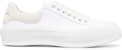 Alexander McQueen Deck Skate Plimsoll Lace-Up White White 654593W4MV79000