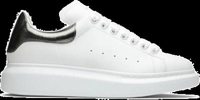Alexander McQueen Oversized White Metallic 553770WHFBU9042