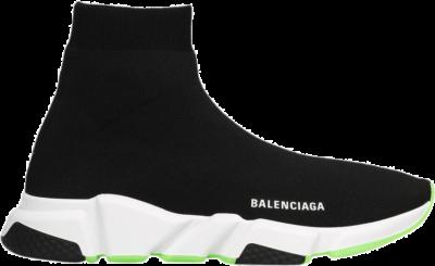 Balenciaga Speed Trainer Fluo Green Sole 645056 W2DB9 1073