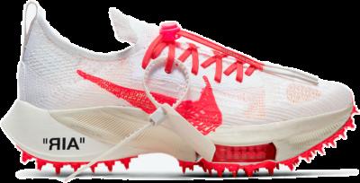 Nike Air Zoom Tempo NEXT% Off White White Solar Red CV0697-100