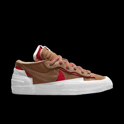 NikeLab Blazer Low x sacai 'British Tan'  DD1877-200