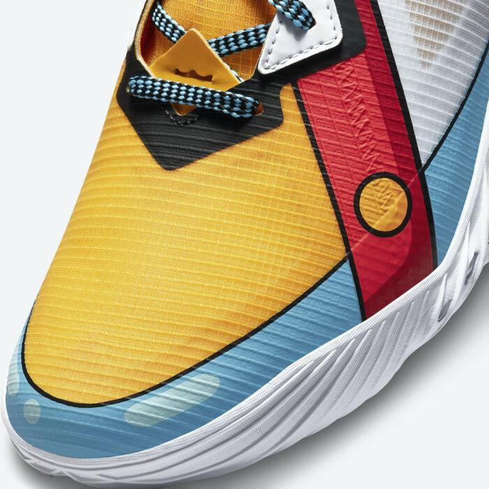 close up Nike LeBron 18 Stewie griffin