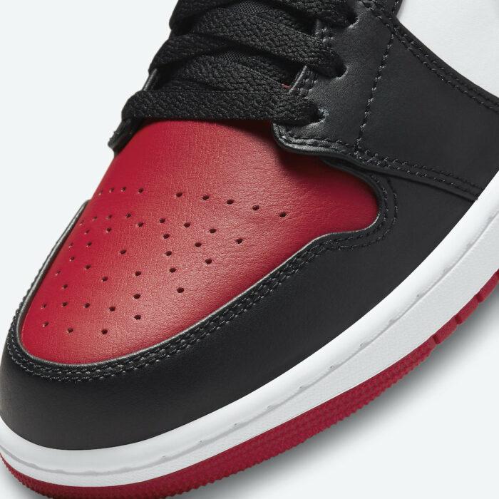 nike low Jordan 1 air bred toe