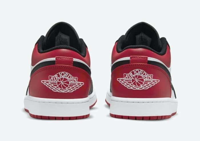 low Nike Air Jordan 1 bred toe