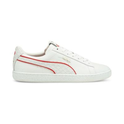 Puma Basket x Usain Bolt sneakers voor Heren Wit 384641_01