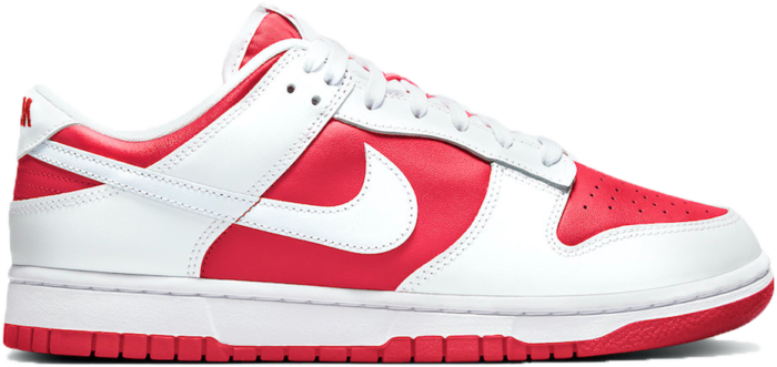 Nike Dunk Low Championship Red (2021) DD1391-600