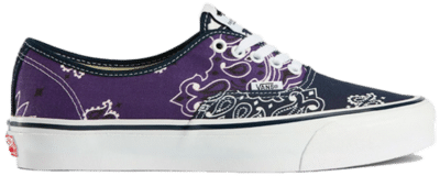 VANS VAULT x Bedwin & The Heartbreakers Authentic LX -Footwear Navy / Purple / Turquoise VN0A4BV99R91015
