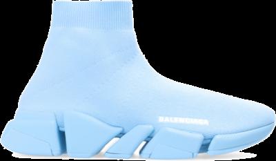 Balenciaga Speed Trainer Full Light Blue (W) 617196W2DB14317