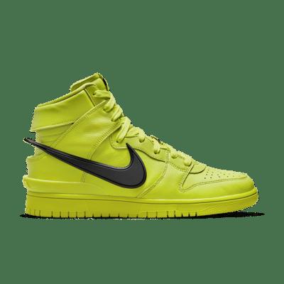 NikeLab Dunk High x AMBUSH 'Flash Lime' Flash Lime CU7544-300