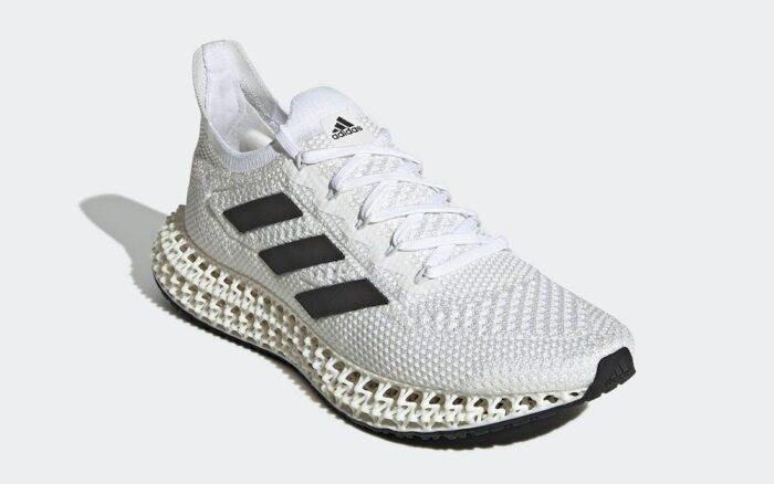4d Adidas white black