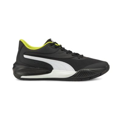 Men's PUMA Triple Basketball Shoe Sneakers, Black/White Black,White 195217_08