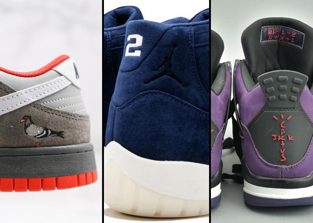 Drie van die: Exclusieve sneakers van meer dan €50.000,- (Ja echt!)