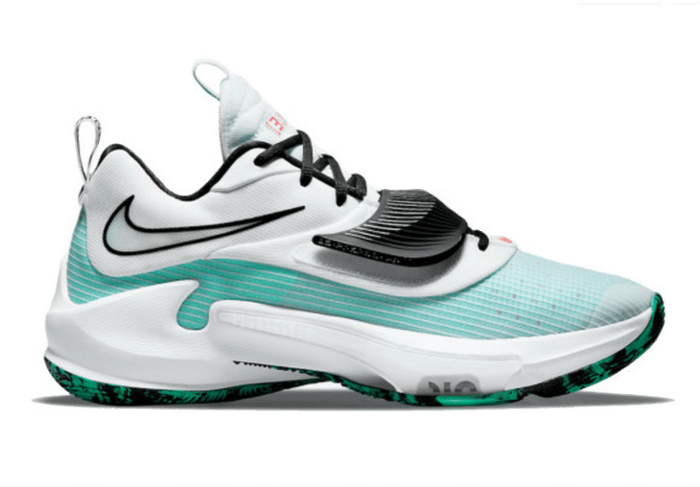 Nike Zoom Freak 3 White Teal DA0695-101