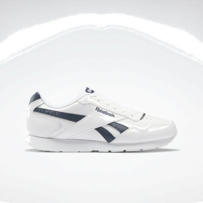 Reebok Royal Glide White / Smoky Indigo / White FW0629
