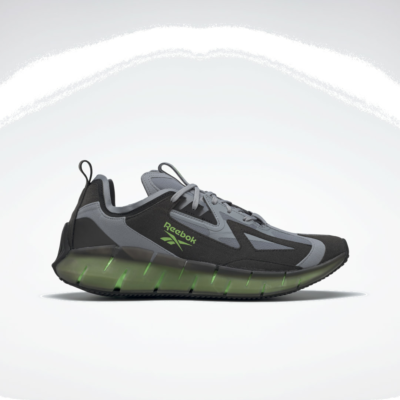 Reebok Zig Kinetica Concept_Type2 Cold Grey 4 / Black / Solar Green FX0002