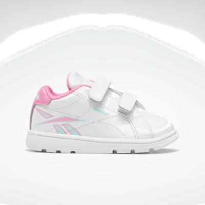 Reebok Royal Complete CLN 2 White / Electro Pink / Digital Glow FY4984