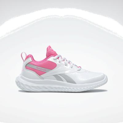 Reebok Rush Runner 3 White / Electro Pink / Silver Metallic FY4364