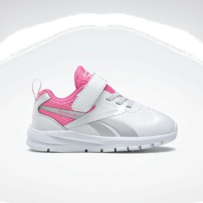 Reebok Rush Runner 3 White / Electro Pink / Silver Metallic FY4373