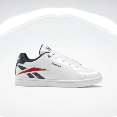 Reebok Royal Complete CLN White / Collegiate Navy / Vector Red FW8603