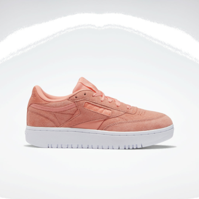 Reebok Club C Double Schoenen Twisted Coral / Twisted Coral / White FZ0848