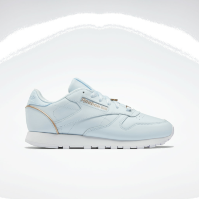 Reebok Classic Leather Glass Blue / Golden Bronze / Cloud White GY0175