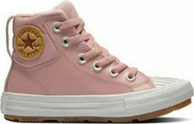 Converse Color Leather Chuck Taylor All Star Berkshire Boot rust pink/rust pink/pale putty 371523C