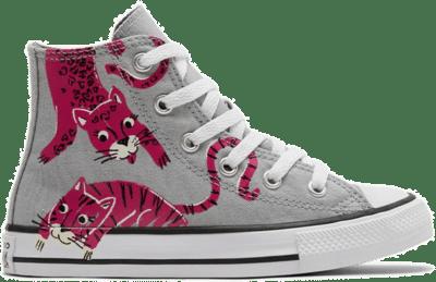 Jungle Cats Chuck Taylor All Star ash stone/mason/prime pink 671613C