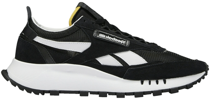 Reebok Classic Leather Legacy Schoenen Core Black / Cold Grey 7 / Vector Red S24169