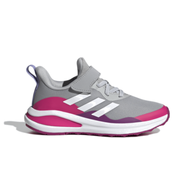 adidas FortaRun Elastic Lace Top Strap Hardloopschoenen Grey Two H04118