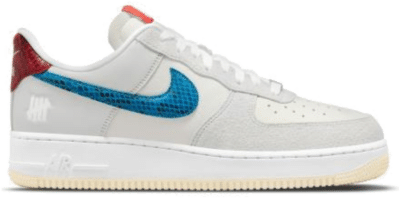 Nike Air Force 1 Low Undefeated 5 On It Dunk vs. AF1 DM8461-001