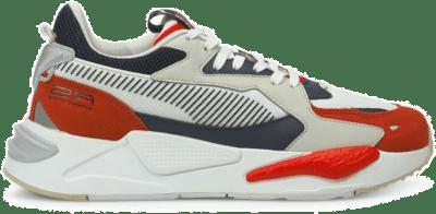 PUMA RS-Z College Sneakers Wit Oranje Grijs Wit 381117-03