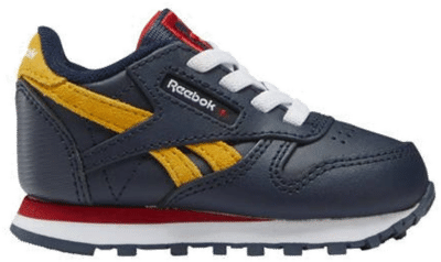 Reebok Classic Leather Vector Navy / Vector Red / Collegiate Gold G58365